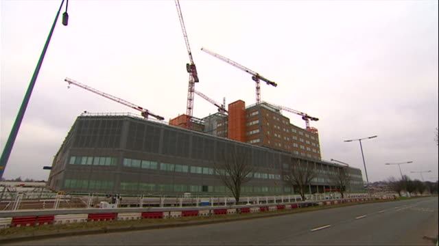 Construction worked stopped at the Midland Metropolitan Hospital in Smethwick after Carillion went into liquidation