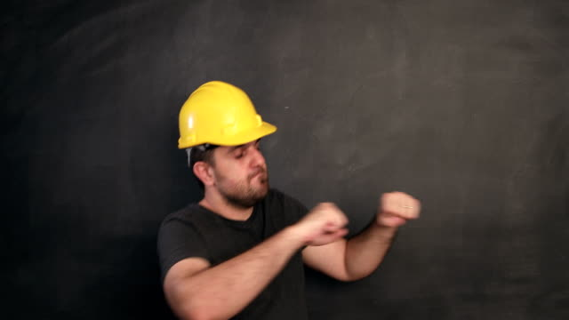 construction worker dancing - construction worker stock videos & royalty-free footage