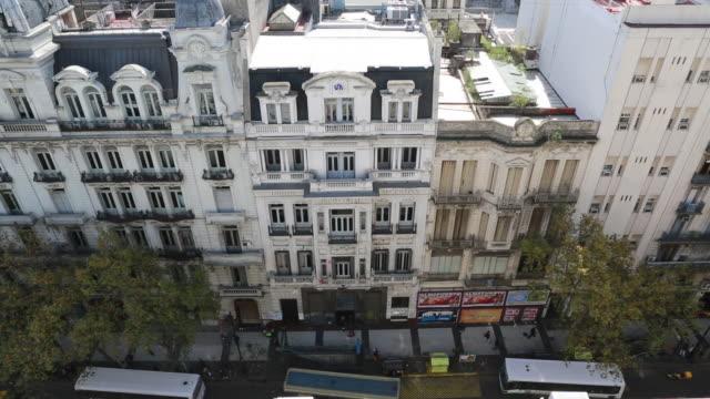 vídeos de stock e filmes b-roll de constructions in buenos aires - argentina