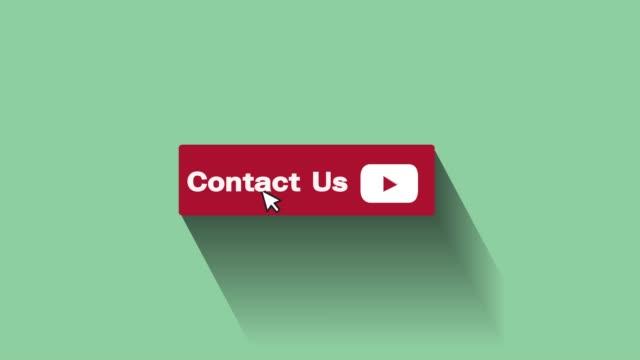 vidéos et rushes de nous contacter bouton motion graphique et animation - engagement des clients