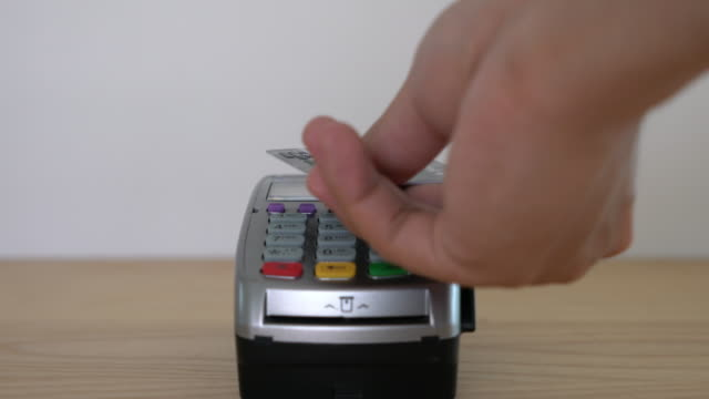 contactless payment 4k - tap to pay stock videos & royalty-free footage