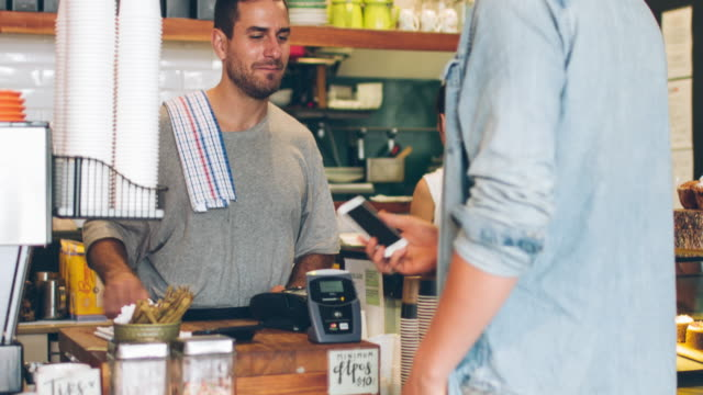 Contactless payment in the cafeteria
