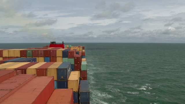 container ship - cargo container stock videos & royalty-free footage