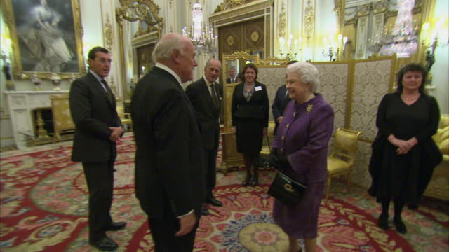 contemporary british poetry reception at buckingham palace on november 19 2013 in london england - poetry stock videos & royalty-free footage
