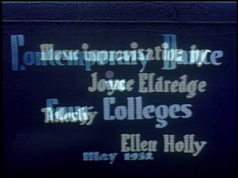 contemporary dance in four colleges - 1 of 11 - see other clips from this shoot 2126 stock videos & royalty-free footage