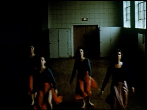 contemporary dance in four colleges - 2 of 11 - see other clips from this shoot 2126 stock videos & royalty-free footage
