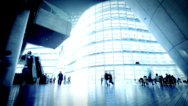 contemporary office architecture - time lapse stock videos & royalty-free footage
