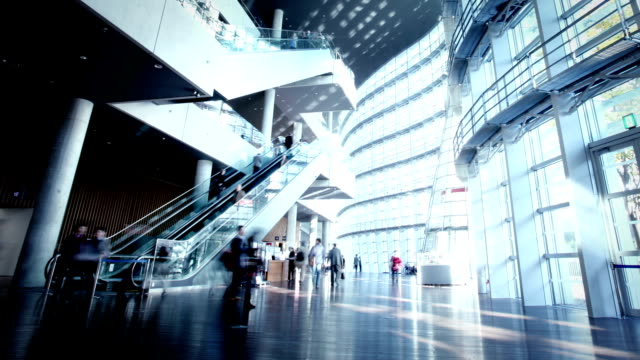contemporary office architecture - place of work stock videos & royalty-free footage