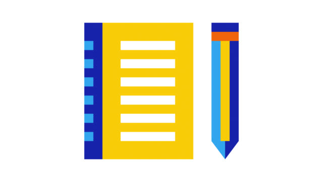 content marketing glitch effect icon animation mit alpha - content stock-videos und b-roll-filmmaterial