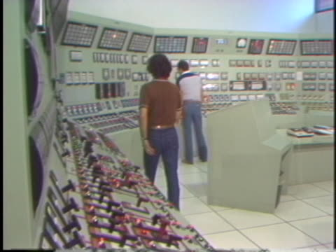 control room of tennessee valley authority station. - tennessee stock videos & royalty-free footage