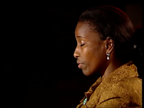 controversial writer and politician ayaan hirsi ali england london ayaan hirsi ali interview sot people i represent are not against islam they are... - john w. snow politician stock videos and b-roll footage