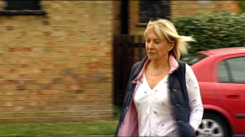 controversy over nadine dorries joining 'i'm a celebrity' jungle; t06051219 / tx bedfordshire: dorries along - i'm a celebrity... get me out of here stock videos & royalty-free footage