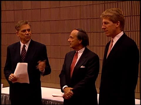 vídeos de stock e filmes b-roll de convention at the natpe convention on january 20, 1998. - natpe convention