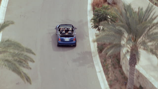 a convertible arrives at a resort in mexico. - convertible stock videos & royalty-free footage