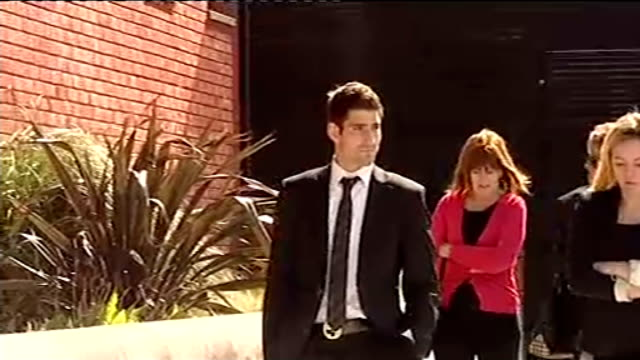 Convicted rapist Ched Evans in talks to return to football with League One side Oldham LIB / Gwynedd Caernarfon Crown Court EXT **Vox pop partly...
