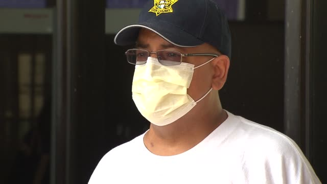 cook county sheriff's department held a bone marrow drive to help veteran sergeant encarmacion roldan who was diagnosed with peripheral t-cell... - sergeant stock videos & royalty-free footage