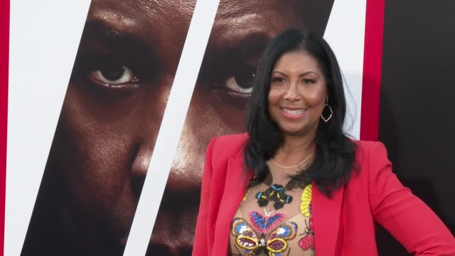 Cookie Johnson at the 'The Equalizer 2' Premiere at TCL Chinese Theatre on July 17 2018 in Hollywood California