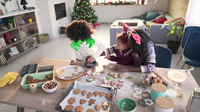cookies for santa - decoration stock videos & royalty-free footage