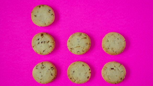 vídeos y material grabado en eventos de stock de las cookies  - peanut food