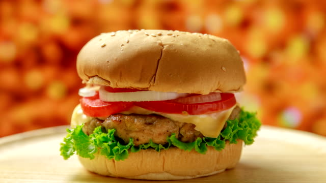 cooking a burger, layer by layer - hamburger stock videos & royalty-free footage
