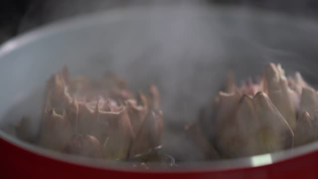 cooking artichoke - south america stock videos & royalty-free footage
