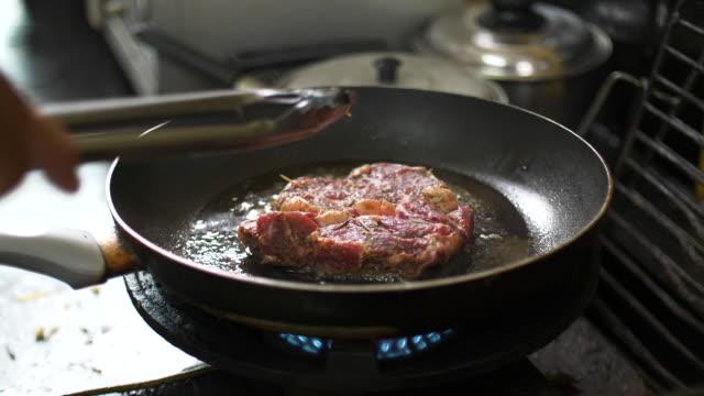 CU: Koken biefstuk