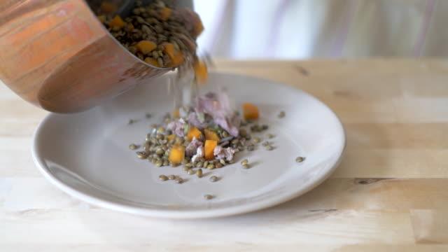 cooking lentil stew
