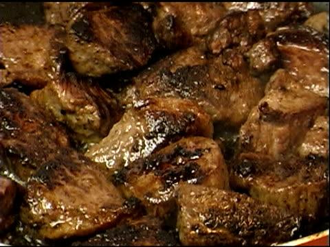 cooking meat 3 - steak stock videos & royalty-free footage
