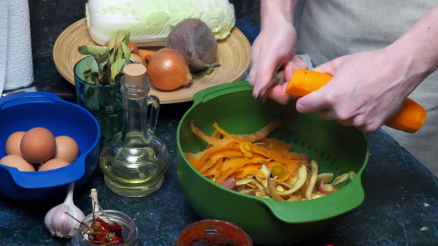 cooking of vegetable soup - potato soup stock videos & royalty-free footage