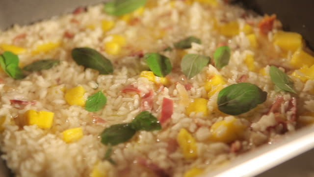 cooking rice - risotto stock videos & royalty-free footage