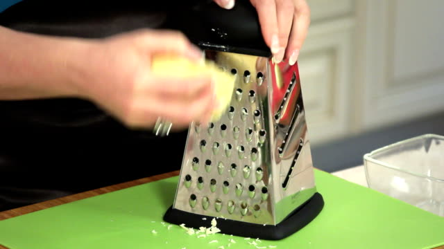 cooking - grater utensil stock videos & royalty-free footage
