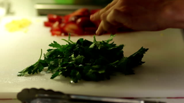 Cooking with Parsley and Onions