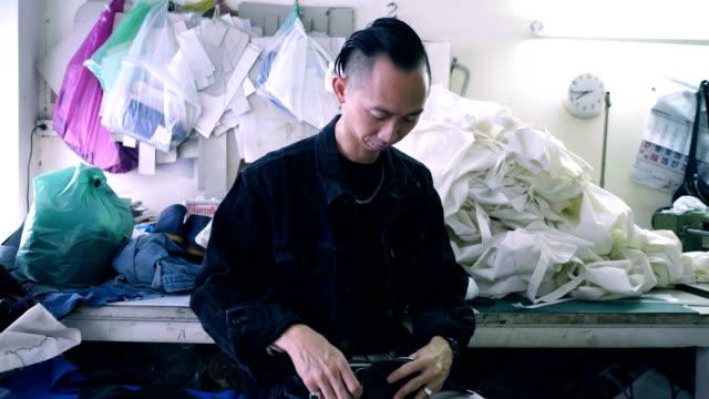cool attitude : fashion designer - atelier fashion stock videos & royalty-free footage