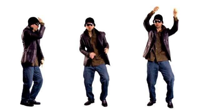 vídeos de stock e filmes b-roll de fresco rapazes dança - break dance