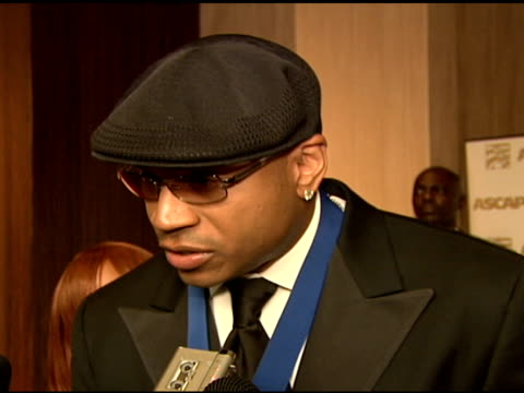 ll cool j ascap golden note award winner on what it meant to receive this award on what keeps him making music on how he likes making movies on his... - ll cool j stock videos and b-roll footage