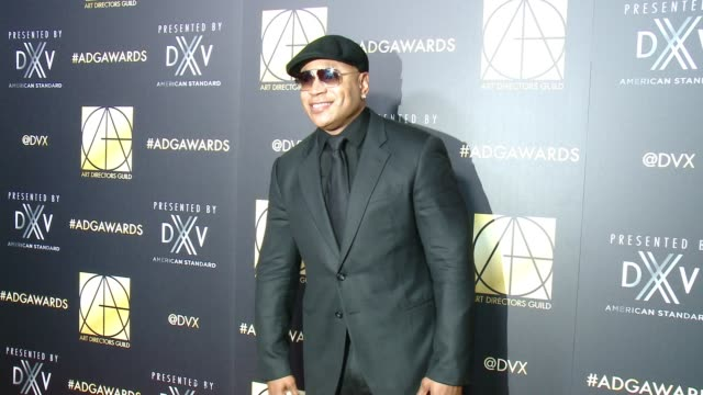 ll cool j at art directors guild 20th annual excellence in production design awards at the beverly hilton hotel on january 31 2016 in beverly hills... - ll cool j stock videos and b-roll footage
