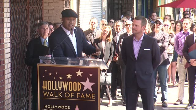 cool j at chris o'donnell honored with star on hollywood walk of fame in hollywood ca on - ll cool j stock videos and b-roll footage
