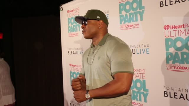 ll cool j at iheartradio ultimate pool party presented by visit florida at fontainebleau's bleaulive 06/29/13 ll cool j at iheartradio ultimate pool... - ll cool j stock videos and b-roll footage
