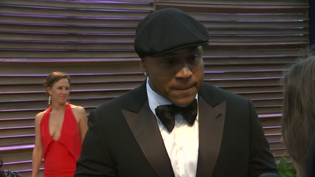 cool j at the 2014 vanity fair oscar party hosted by graydon carter arrivals on march 02 2014 in west hollywood california - ll cool j stock videos and b-roll footage