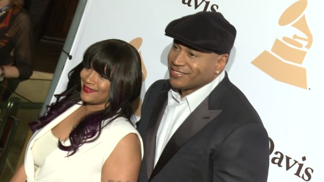 ll cool j at the 2016 pregrammy gala and salute to industry icons honoring irving azoff at the beverly hilton hotel on february 14 2016 in beverly... - ll cool j stock videos and b-roll footage