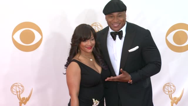 ll cool j at the 65th annual primetime emmy awards arrivals in los angeles ca on 9/22/13 - annual primetime emmy awards stock-videos und b-roll-filmmaterial