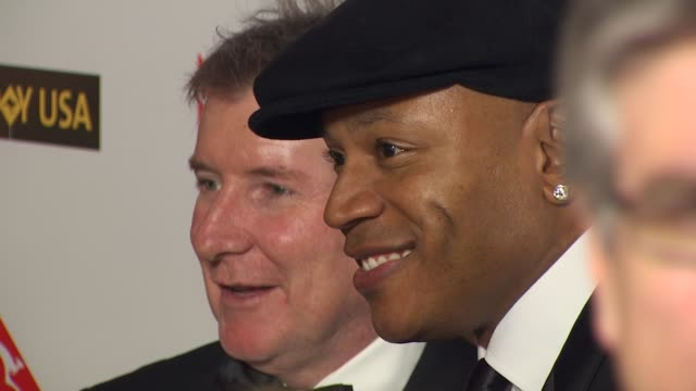 ll cool j at the g'day usa 2010 black tie gala at hollywood ca - ll cool j stock videos and b-roll footage