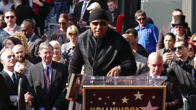 cool j at the ll cool j honored with star on the hollywood walk of fame at hollywood walk of fame on january 21 2016 in hollywood california - ll cool j stock videos and b-roll footage