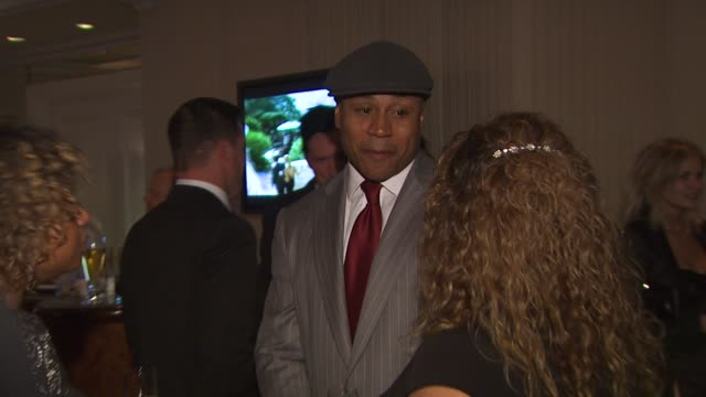 ll cool j at the monte carlo television festival cocktail party at beverly hills ca - ll cool j stock videos and b-roll footage