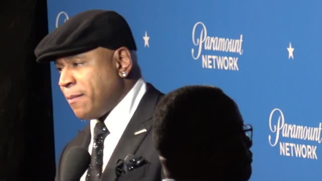 LL Cool J attends the Paramount Network launch party at Sunset Tower in West Hollywood in Celebrity Sightings in Los Angeles