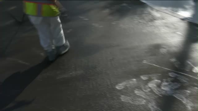 KTLA 'Cool pavement' to cut urban street heat