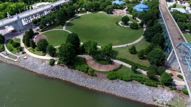 coolidge park - chattanooga, tn - chattanooga stock videos and b-roll footage