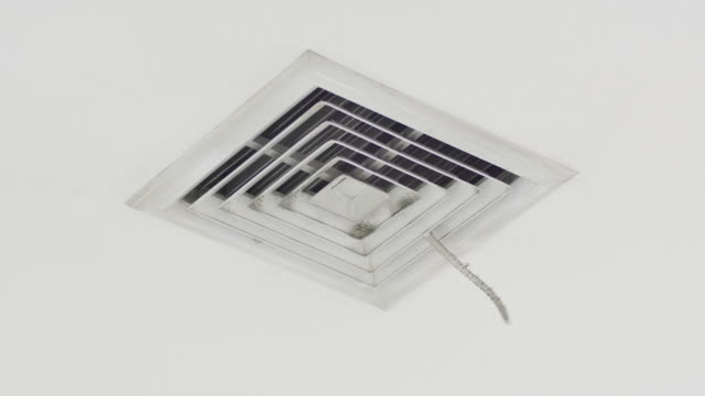 cooling air vents - air duct stock videos & royalty-free footage