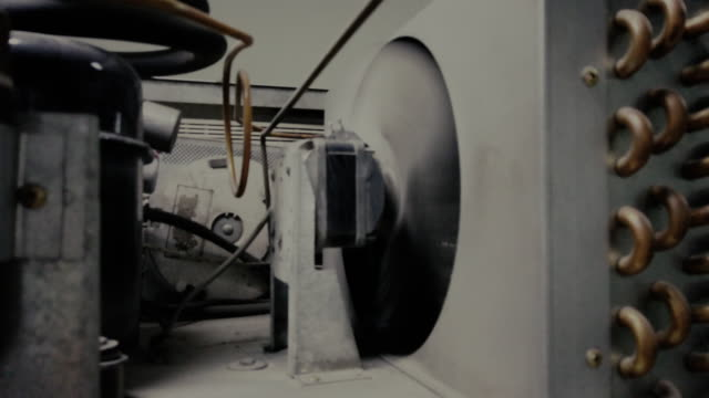 cooling system of refrigerator. - air duct stock videos & royalty-free footage