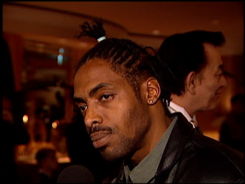 Coolio at the Arista Records Grammy Awards Party at the Beverly Hilton in Beverly Hills California on February 27 1996